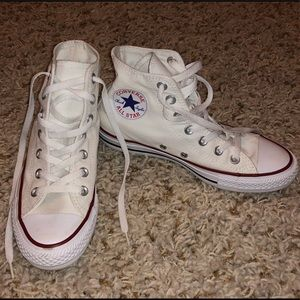 White High-Top Converse